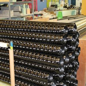 Stock de tubes de carbone